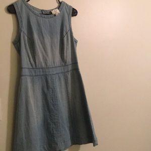 Denim like dress.
